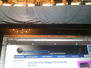 opensecurity live blogging sbs10
