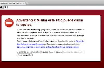 Google identifica todos los días 9,500 páginas maliciosas