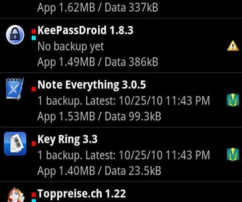 Realizar copias de seguridad en Android