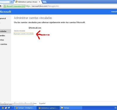 Outlook.com desactiva las cuentas vinculadas