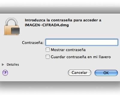 Cifrar archivos en Mac OS