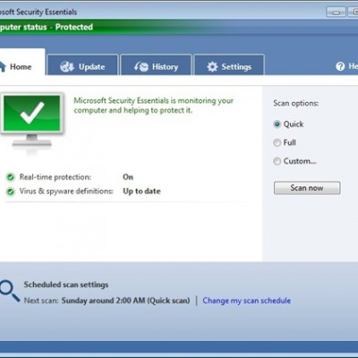 Microsoft Security Essentials seguirá hasta julio de 2015