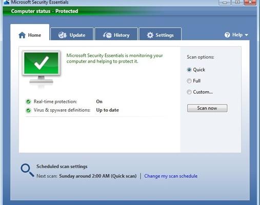 Microsoft Security Essentials seguirá hasta julio de 2015