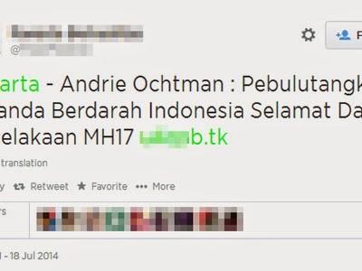 Nueva campaña SPAM utilizando la tragedia del Malasyan Airlines MH17